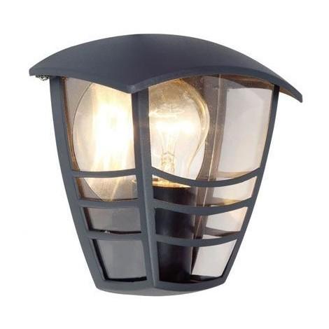 Lampade Per Esterno A Parete.Lampada Parete Applique Esterno Grigia Lanterna Vintage Sovil 512 16
