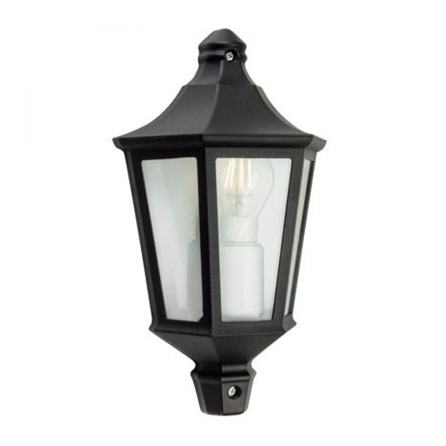 LAMPIONE TRASPARENTE TESTA PALO DA GIARDINO 60mm E27 MINI PLASTICO ESTERNO IP44