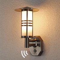 Muro esterno lampada in acciaio inox Erina Muro Esterno Lampada ip44 LAMPADE VETRO MONDO