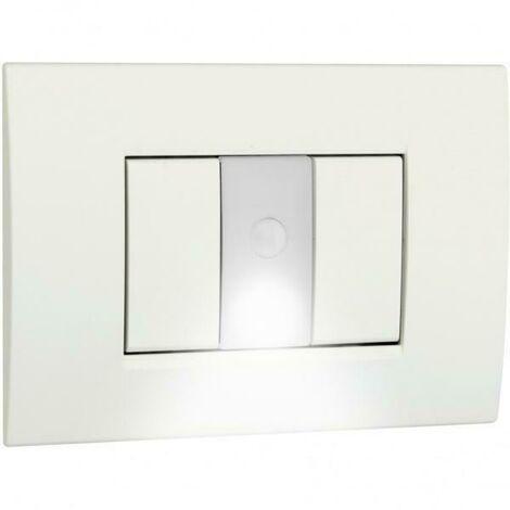 Lampada Segnapasso Crepuscolare Con Sensore Di Movimento Led Da Incasso Colore Bianco Opale Ve770600