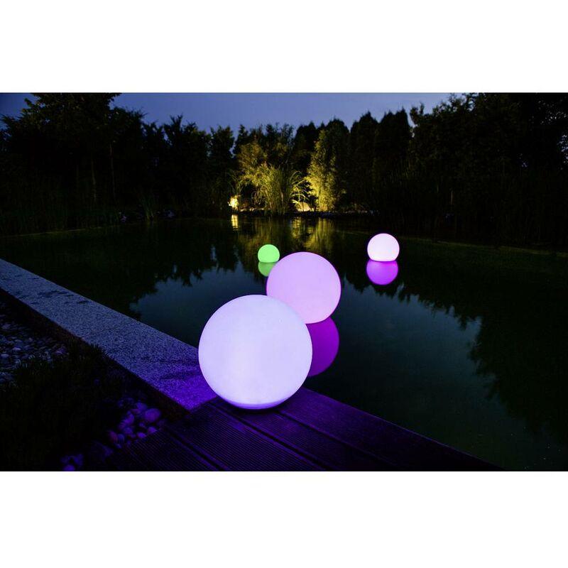 Giardino luce palla v w cm sfere