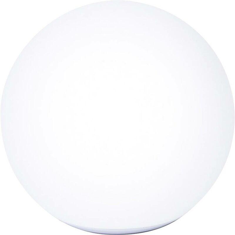 Lampada solare da giardino sfera (Ø) 30 cm LED (monocolore) 9.6 W Ball Connectivity T90230 Bianco - Telefunken