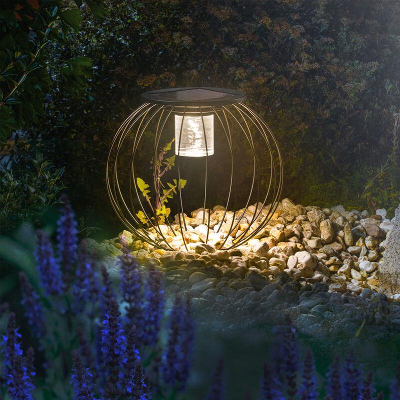 Lampada solare decorativa Sorrento. Lampada da giardino. Lanterna solare esotec 102744
