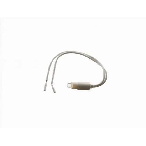 lampada spia per pulsanti 110-230 volt a led segnalazione CE bianco freddo zip 4095