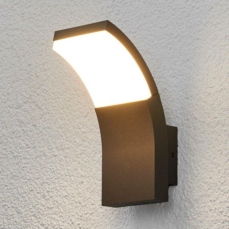 Lampada Timm con LED, a parete, per esterni - LUCANDE
