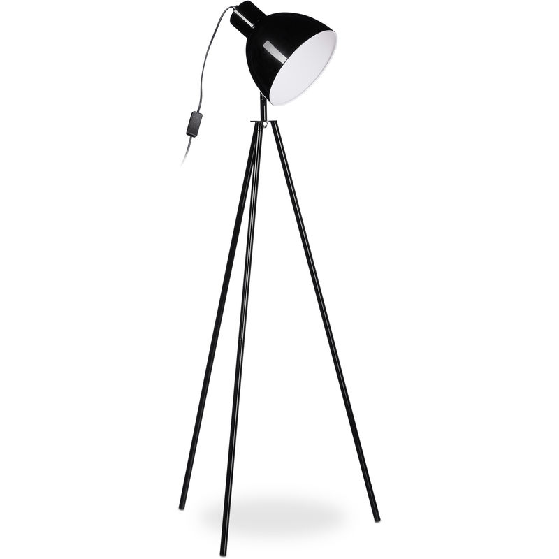 Hlp 53 1 Lampe 3 Spot Env130 Trépied Luminaire X Cmnoir Lampadaire mn0ONv8w