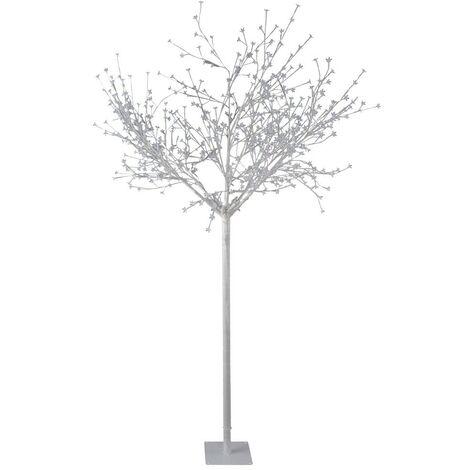 Lampadaire 600x LED's décoration jardin jardin arbre XMAS lumière de Noël projecteurs blancs