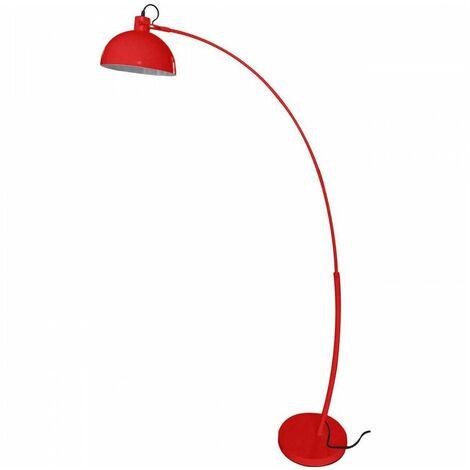 Lampadaire arc FROSINI Rouge en métal - Rouge