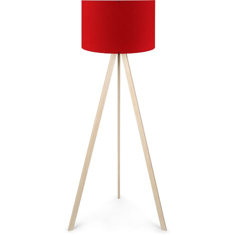"""Lampadaire """"AYD-1572""""Rouge /Cream 1xE27 Sans Ampoule [OPV-780SGN2463] (OPV-780SGN2463)"""