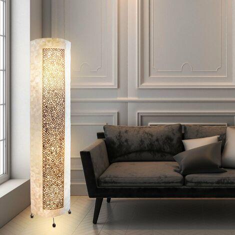 Lampadaire bambou, coque, avec câble, hauteur = 150cm, BALI