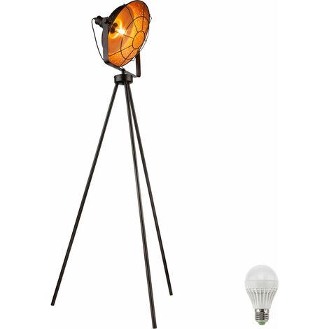 Lampadaire DEL luminaire sur pied lampe LED éclairage salle de séjour appartement chambre
