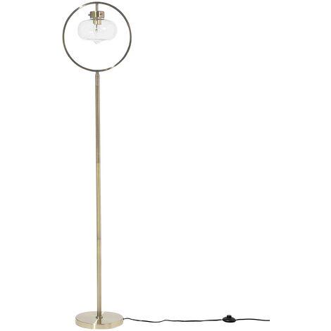 Lampadaire design doré 165 cm SEVERN