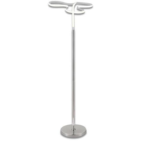 Lampadaire design et original LED angulaire - CLOVER - Gris