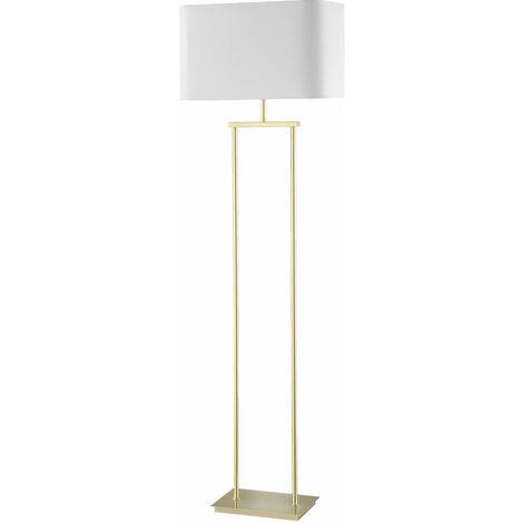 Lampadaire Design Salon Textile Plafonnier Projecteur Éclairage Laiton Support Luminaire Honsel 46122