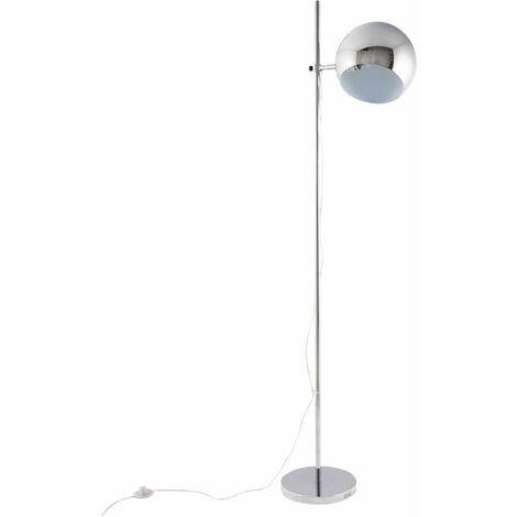 Lampadaire d'intérieur design Vision - Chromé