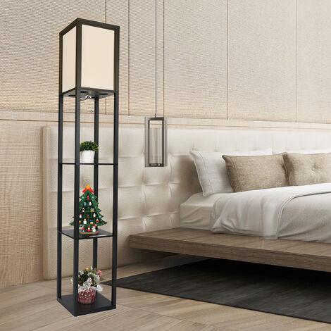 """main image of """"Lampadaire LED 3-étagères lampe 26L x 26l x 160H"""""""