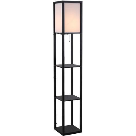Lampadaires Luminaires intérieur Lampe sur Pied LED Étagère