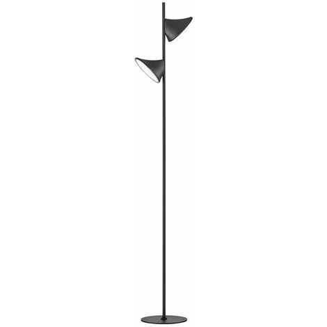 Lampadaire LED salon salle à manger éclairage spot sur pied lampe plafonnier projecteur DIMMABLE Wofi 3596.02.10.9000
