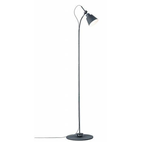 Lampadaire NEORDIC THALA - 20W - E14 - 230V - Gris - Métal - Dimmable - Sans ampoule