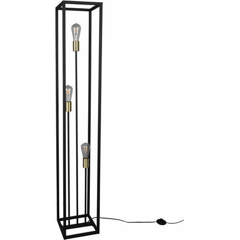 Lampadaire RETRO noir spots de salle à manger projecteurs de plafond lampe de lecture latérale
