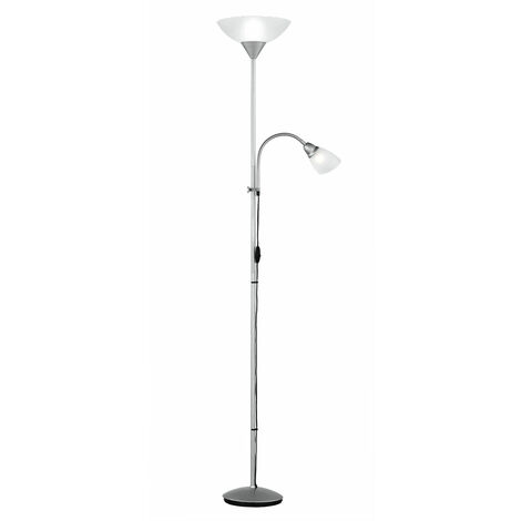 Lampadaire salon plafonnier projecteur variateur Flexo commutable dans un ensemble comprenant des lampes LED RGB