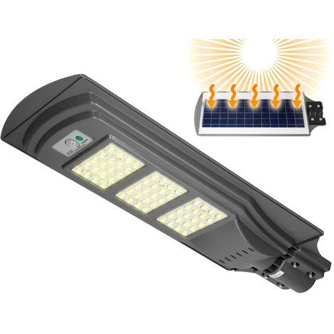 """main image of """"Lampadaire solaire LED 60W avec détecteur de mouvement lampe extérieur de rue"""""""