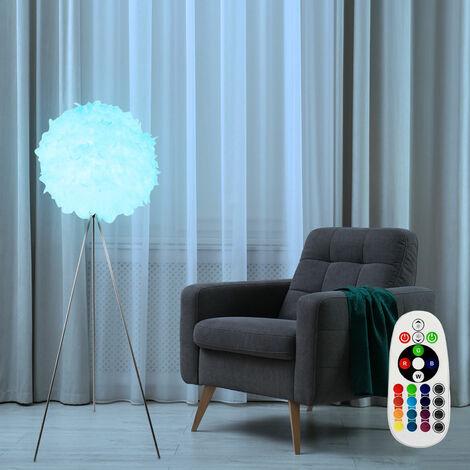 Lampadaire Spring Ball Office Plafond Plafond Projecteur Télécommande TÉLÉCOMMANDE en kit avec ampoule à LED RGB