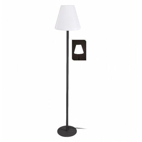 Lampadaire sur pied métal - D 28 x H 150 cm - Luminaire - Livraison gratuite
