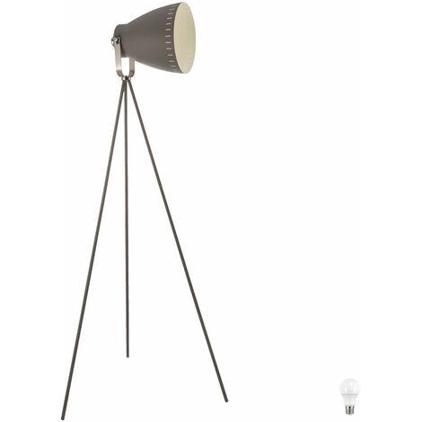 Lampadaires spot lampe de salon d'éclairage orientable en série incl. lampes LED