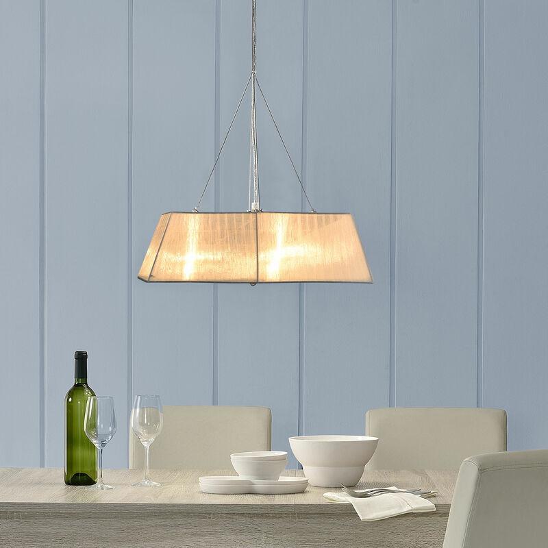 [lux.pro] - Lampadario Lampada da soffitto - Sphera - (4 x E14 base)(13 cm x Ø 45 cm) plafoniera lampada da stanza e salotto