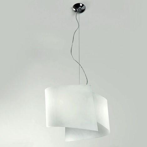 Sospensione Design Lampadari Camera Da Letto.Lampadario Co Face 771 45s E27 Led 45cm Moderna Vetro Cristallo