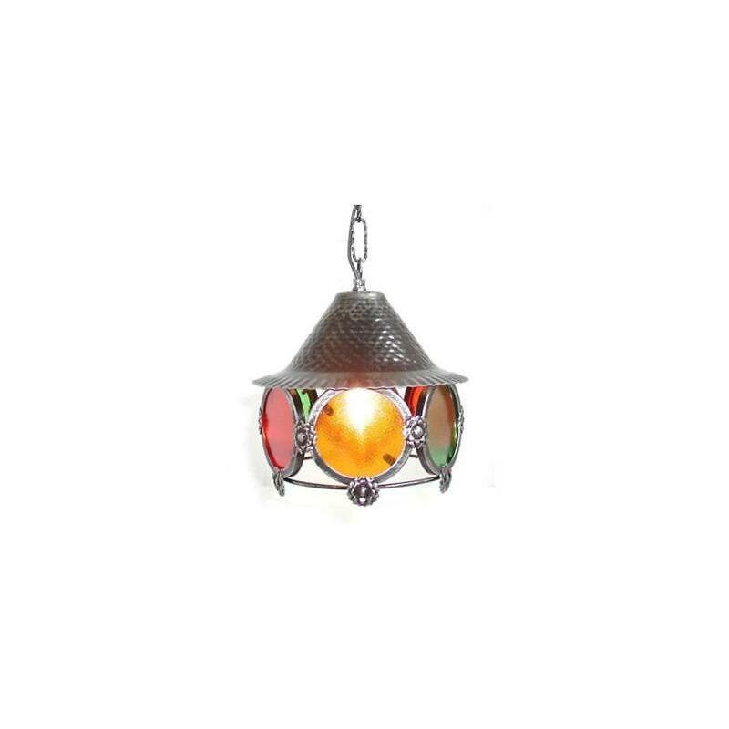 Lampadario colori piccolo ferro battuto lanterna applique lampione lampade - CRUCCOLINI