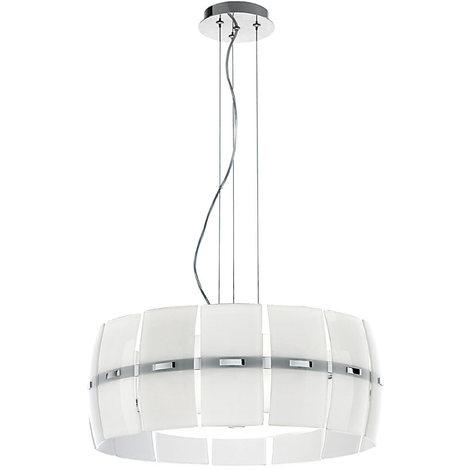 Lampadario con Paralume 40 cm in Vetro PERENZ 5854