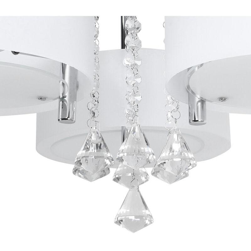 Illuminazione Salotto Soggiorno.Lampadario Da Soffitto Con 3 Punti Luce Circolari Elegante Illuminazione Da Soggiorno Camera Da Letto Salotto