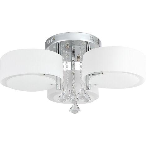 Lampadari Da Soggiorno.Lampadario Da Soffitto Con 3 Punti Luce Circolari Elegante Illuminazione Da Soggiorno Camera Da Letto Salotto