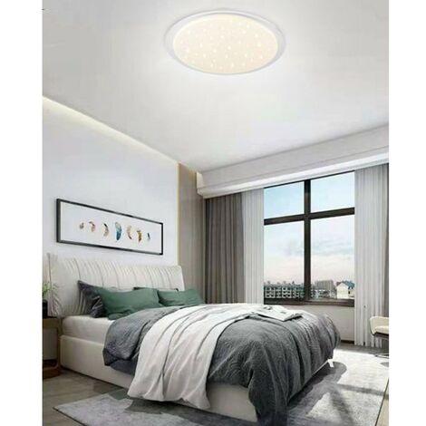 Lampadario da soffitto plafoniera LED 3 toni di luce 26-52W