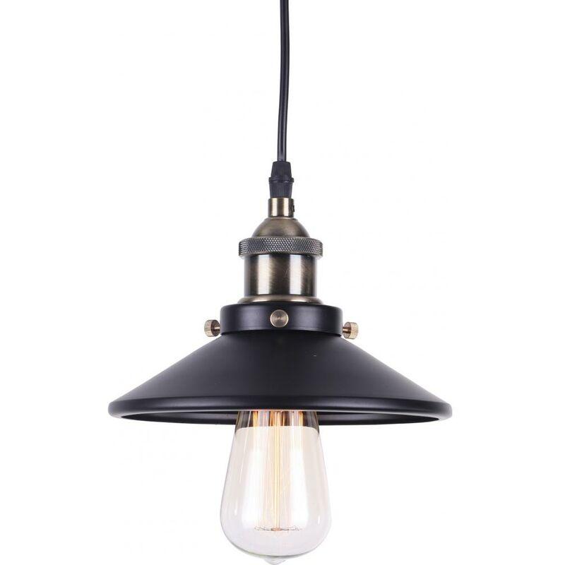 Lampadario Edison 160 - Alluminio Nero - PRIVATEFLOOR