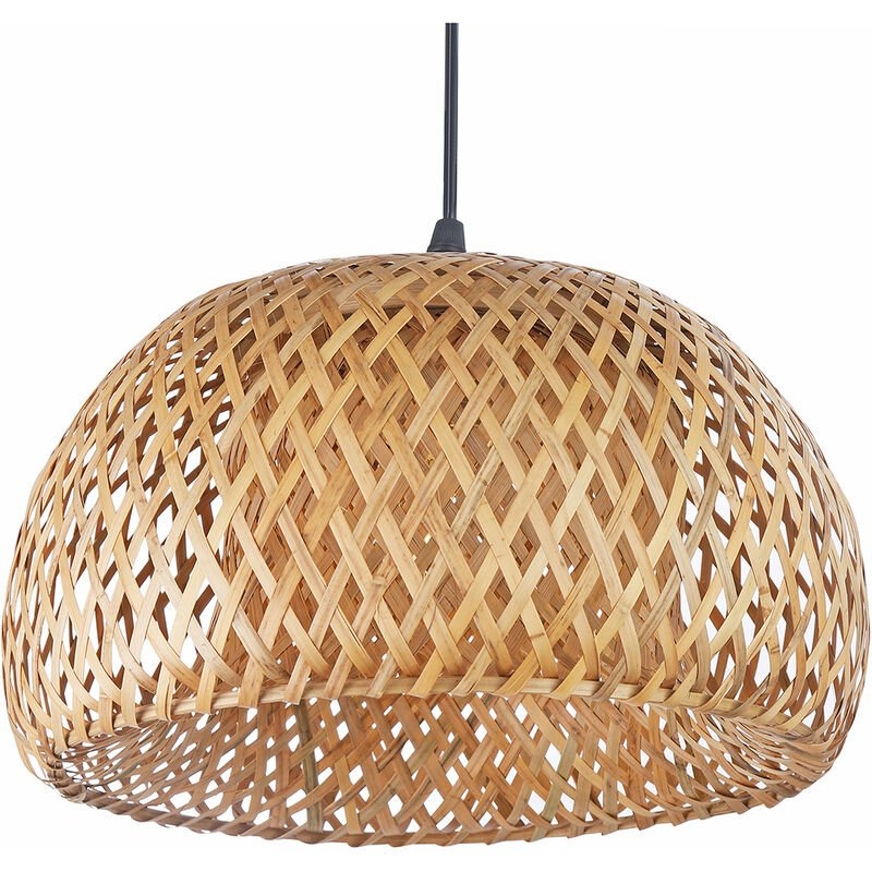 Lampadario intrecciato Talli - Bambù Legno naturale - PRIVATEFLOOR