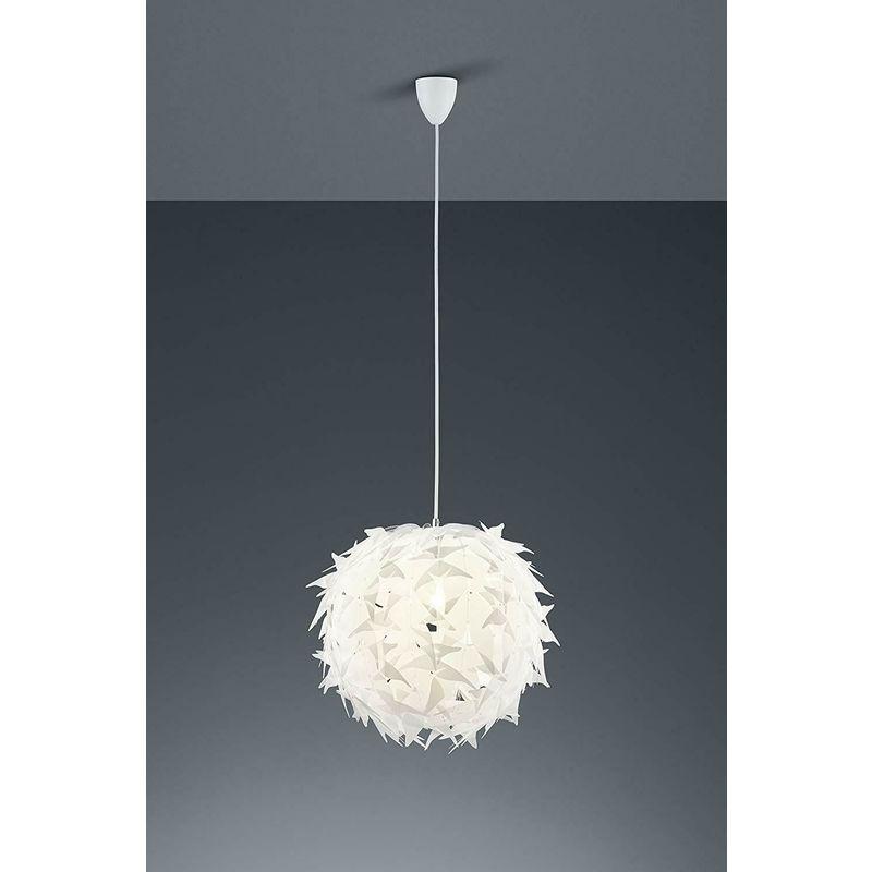 Lampadario moderno a sospensione lampada soggiorno cucina in acrilico bianco