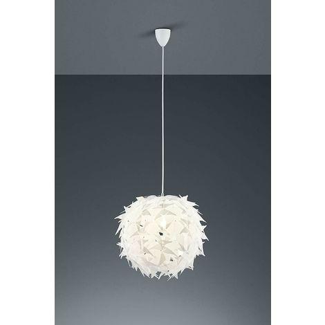 Lampadario moderno a sospensione lampada soggiorno cucina in acrilico  bianco nome stile: lampadario a pendolo taglia: 44 x 44 x 150 cm