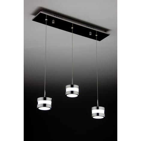 Lampadario Moderno a sospensione Led Cup 3 di Design -