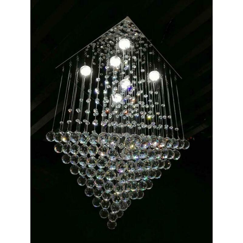Lampadario moderno con luci incorporato a led 4568