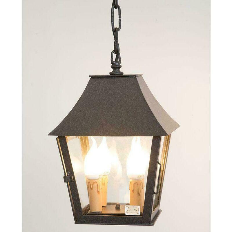 Cruccolini - Lampade linea estrusca lampada a sospensione con sportello e catena cm 24x24x50