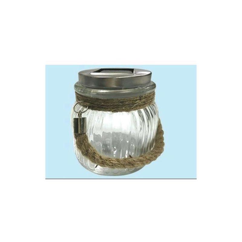 Lampada solare Mod. Ares da giardino 1 Led Bianco - EAC