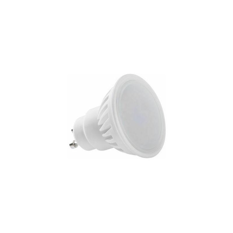 Lampadina 9W Faretto GU10 in Ceramica 120°Luce 3000K 4000K 6000K 800Lm | 8 - Pallina - Bianco Caldo - BENOVO