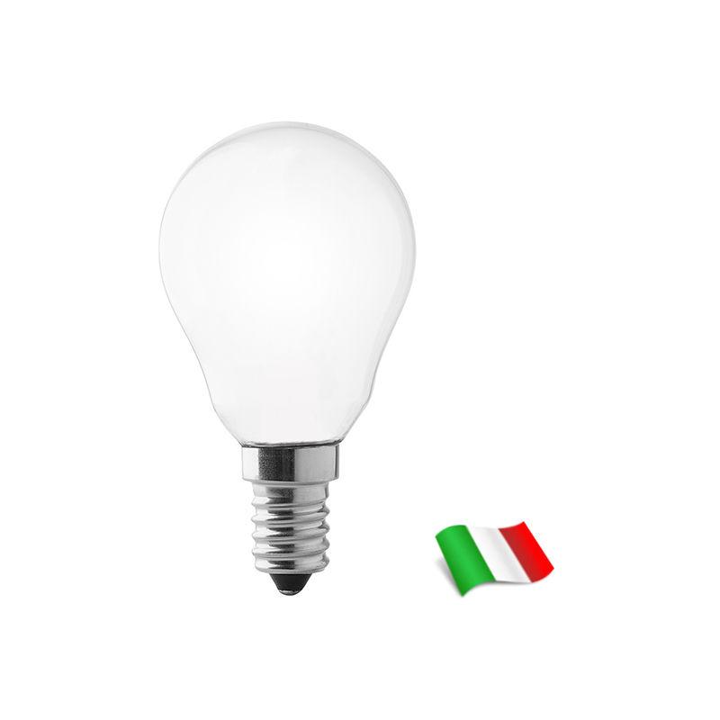 Lampadina a Filamento LED E14 P47 4W 2700K° Opale Wiva