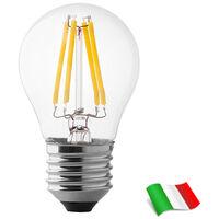 Lampadina a Filamento LED E27 G45 4W 4000K° Wiva