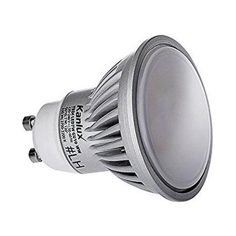 LAMPADINA A LED 7W GU10 6000K FASCIO DI LUCE 110 GRADI
