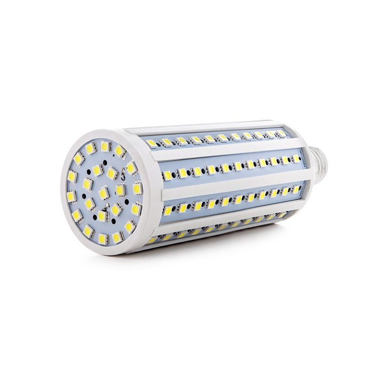 Lampadina a LED E27 5050SMD 26W 1800Lm 30.000H | Bianco Caldo (SM-5050-132YMD-CW) - GREENICE