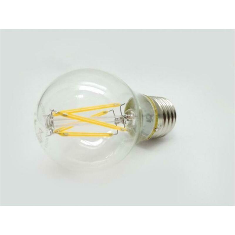 Lampadina A Led Filamento Edison E27 6W Compatto Attacco Grande Kit 10Pz 3000K